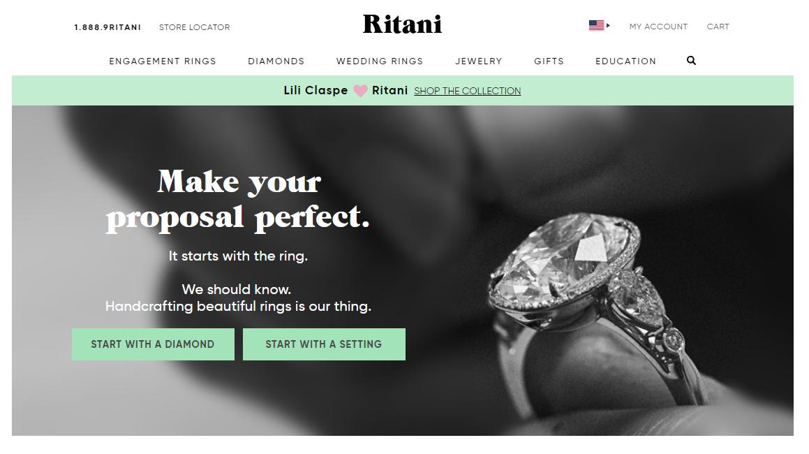 Ritani Website