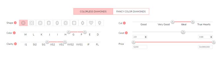 James Allen Diamond Filters