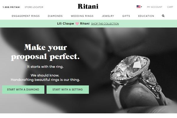 Ritani-Website