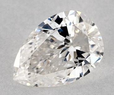 James Allen 0.90 Carat Pear Diamond Disproportion 2
