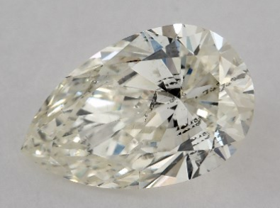James Allen 1.02 Carat Pear Diamond Curvy