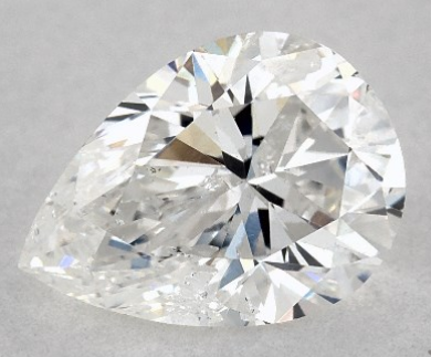 James Allen 1.02 Carat Pear Diamond Disproportion 1