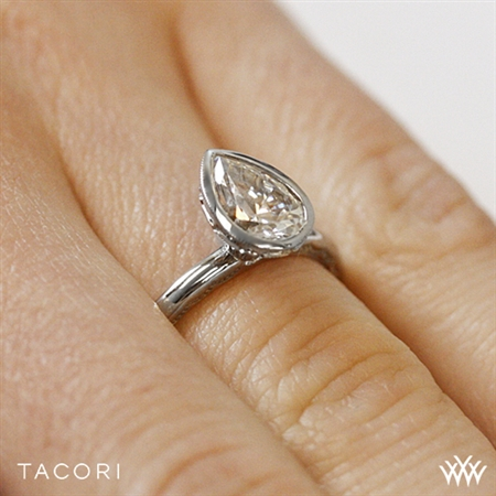 Whiteflash Tacori Pear Engagement Ring