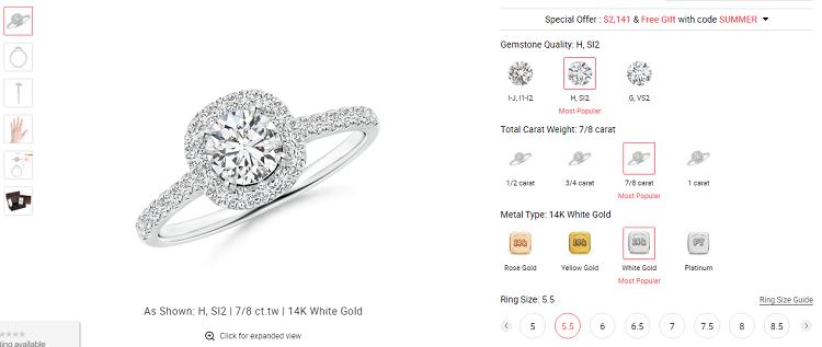 Angara Diamond Example