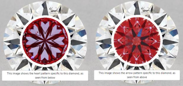 true hearts diamond comparison