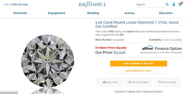 Brilliance Diamond