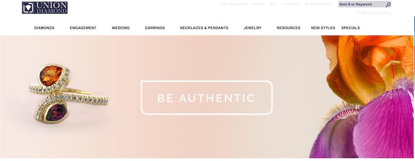 Union Diamond Homepage